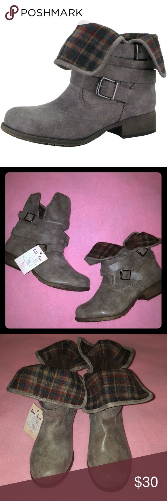 **NWT Jellypop Fold Over Boots size 11 Brown** NWT from a smoke and pet free home. No box. Will ship within 2 business days. *On vacation from 6/9-6/18. Any items purchased during this time will not ship until 6/19.* Jellypop Shoes Ankle Boots & Booties