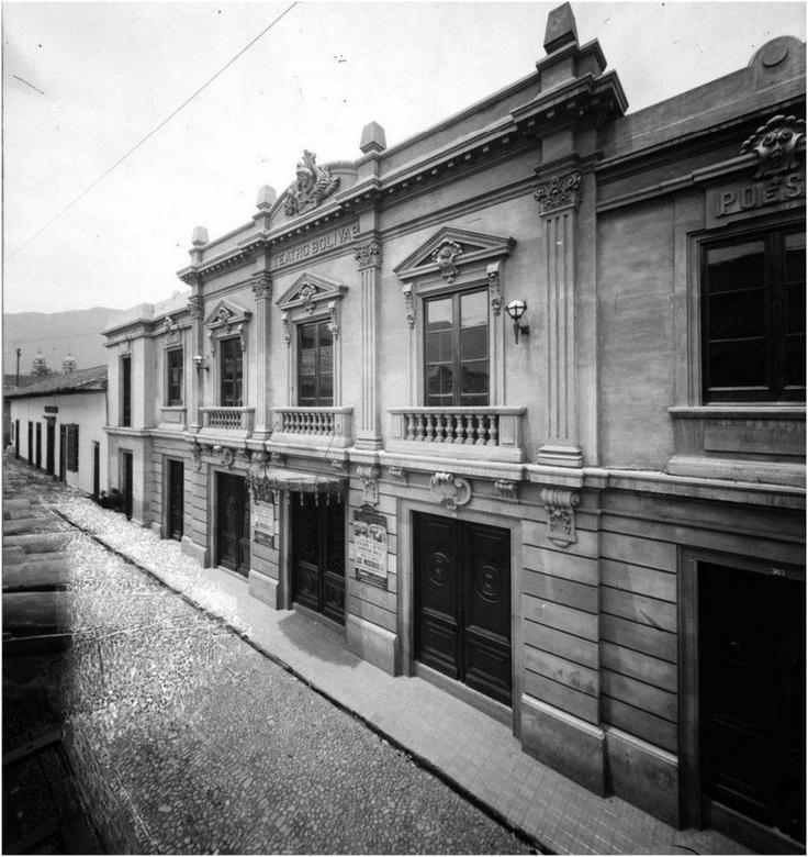 Teatro Bolívar 1922