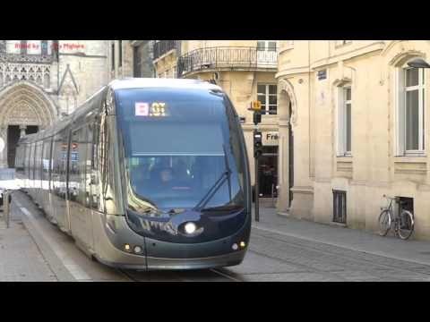 Trams à Bordeaux, France 2016 - YouTube