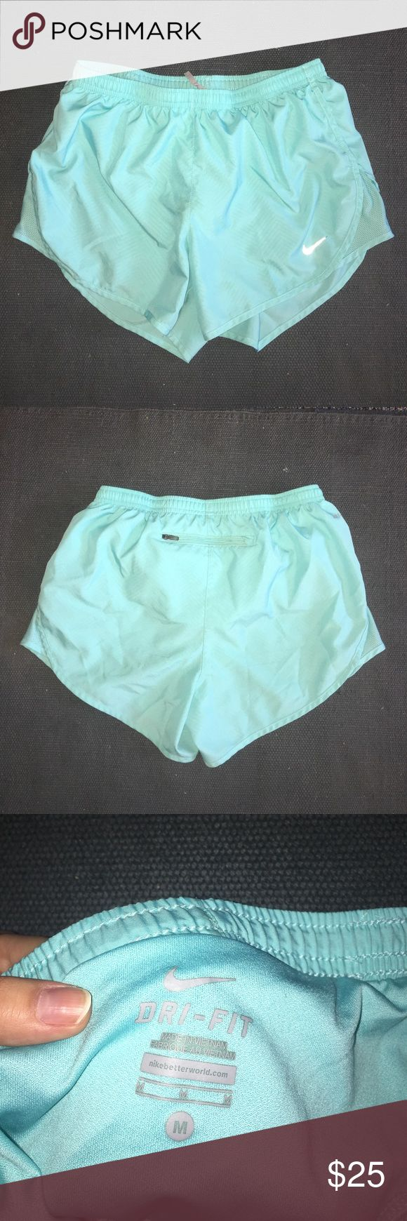 Nike shorts neon green Great condition! Has a back pocket. Nike Shorts
