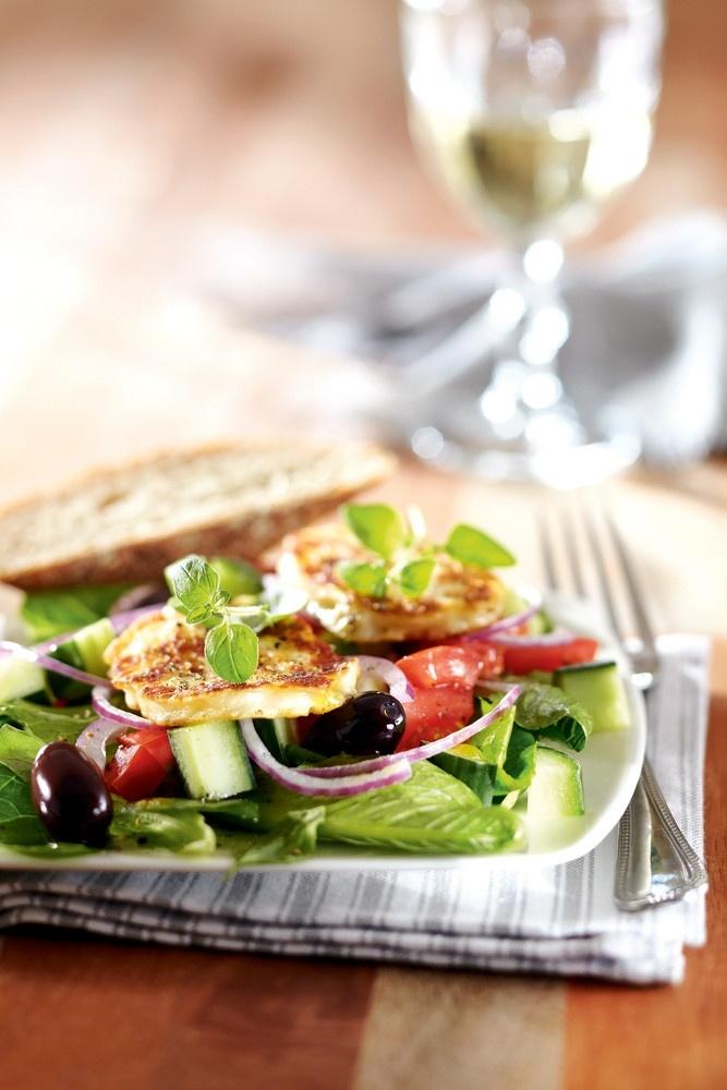 Halloumijuustosalaatti | K-ruoka