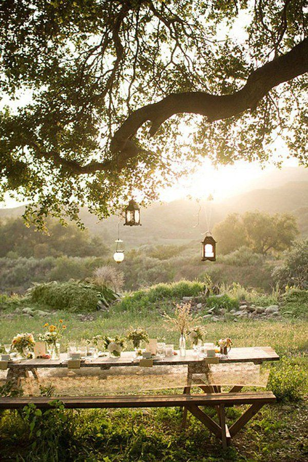 You can design your own unique special garden spot.   All it takes is some work to make it your own style and taste.   Site has inspiring and delightful outdoor spaces