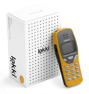 lekki re-issued Nokia 3210 phone
