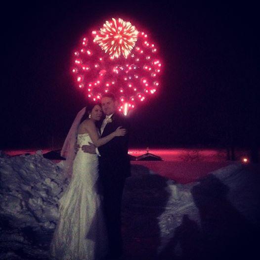 Fort William Henry, Music Man Entertainment, DJ Mike Garrasi, Fireworks, Up Lighting, Lake George, NY , Wedding, Weddings, Wedding Reception