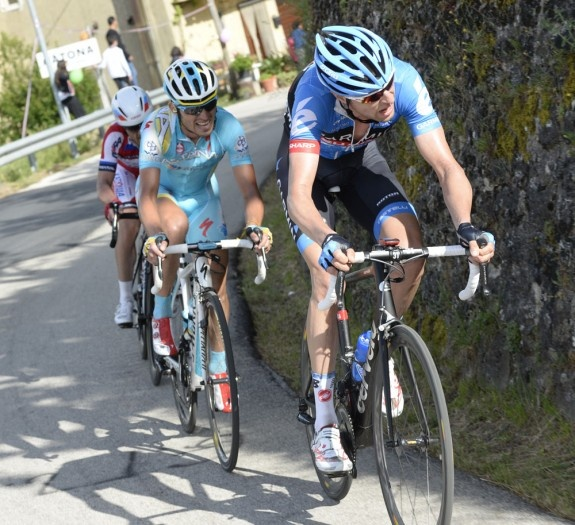 Serious hard work, just look at those faces. Giro dItalia 2013, stage three. #cycling