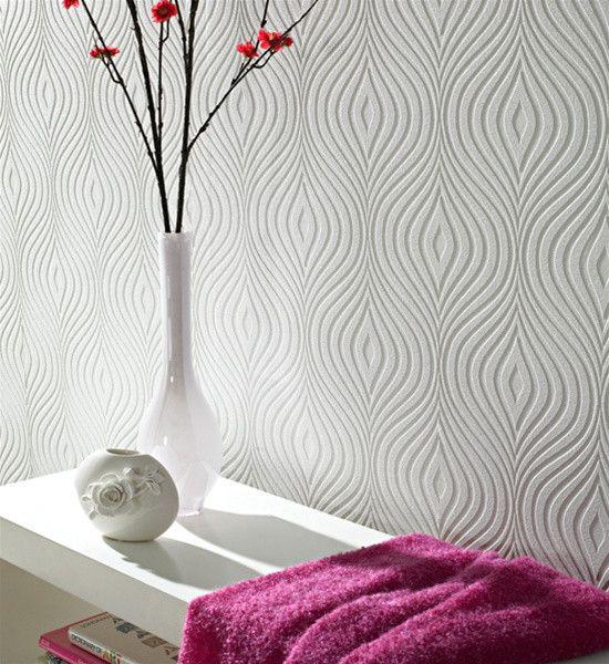 CURVY Effect Wallpaper Print