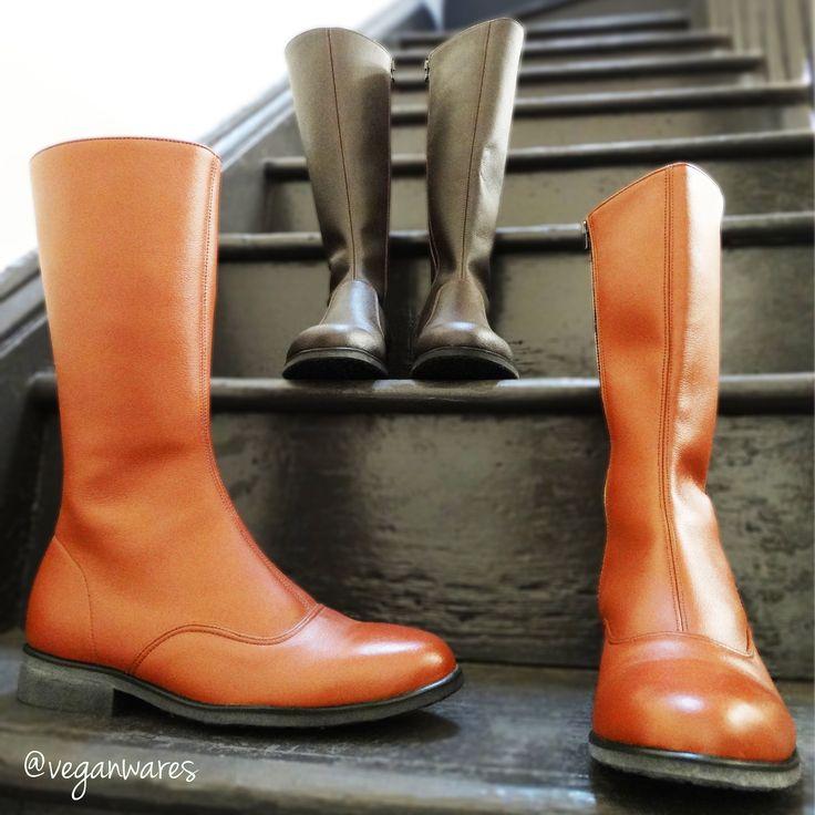 Long Samette & Lauren boots.