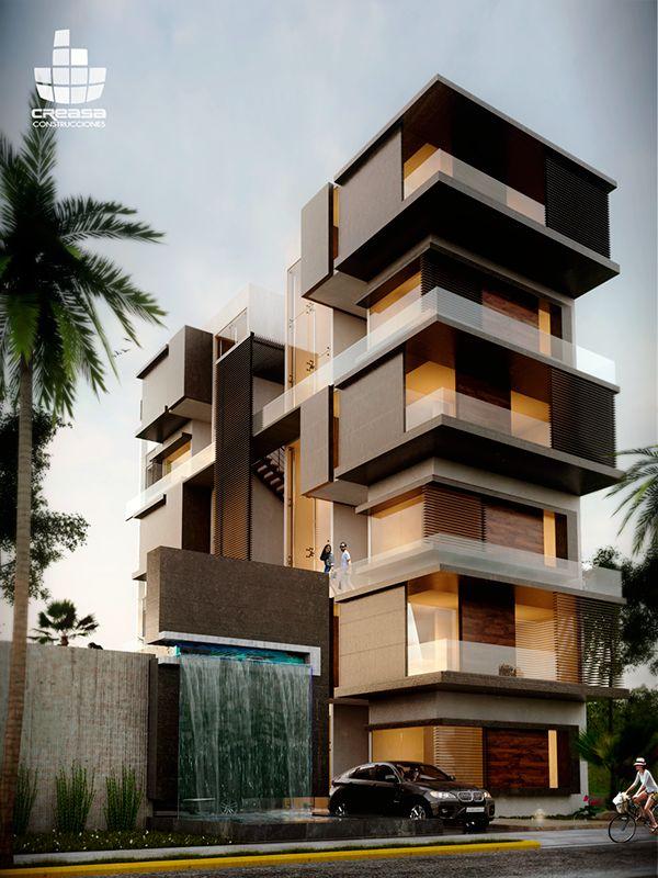 Torre de departamentos en Manzanillo, Colima.