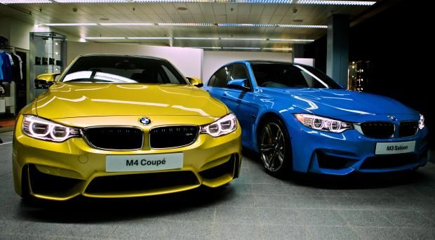 The closest youll get to the new BMW M3 and M4