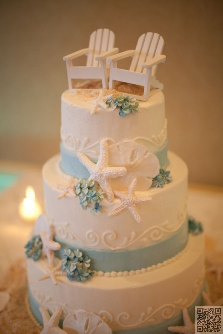 Make #Summer Even Sweeter with #These Blissful #Beach-inspired Cakes ... #Photopost