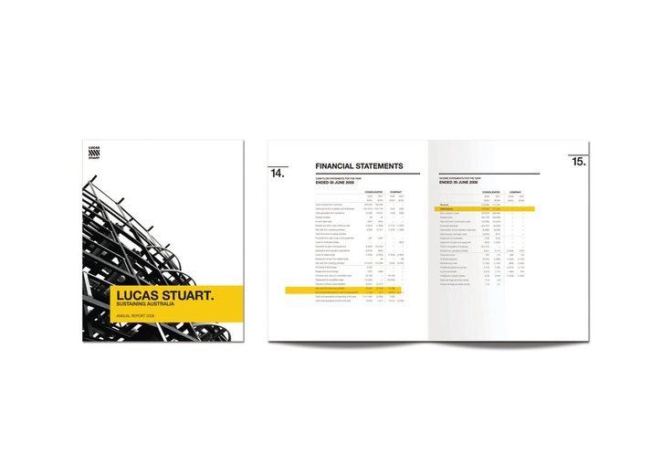 lucas stuwart #design #annual #report #layout #graphic #design - financial statement layout