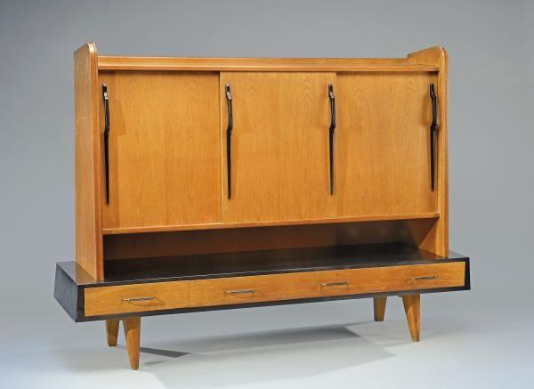 G rard guermonprez xxe si cle vers 1950 1960 meuble for Meuble mid century montreal