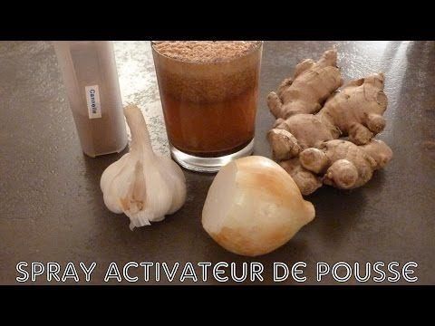 2 ⚛ Faire pousser ses cheveux plus vite: spray activateur de pousse ⚛ - YouTube