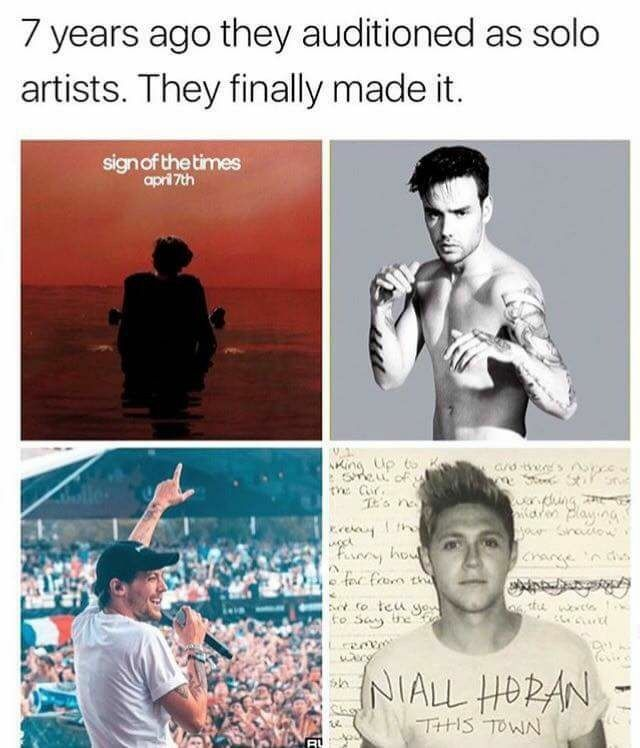 This is so sad!! But they finally made it and they deserve to do their own thing❤️ #DirectionersAreStillHere2017 Still miss 1D tho..!!!❤️