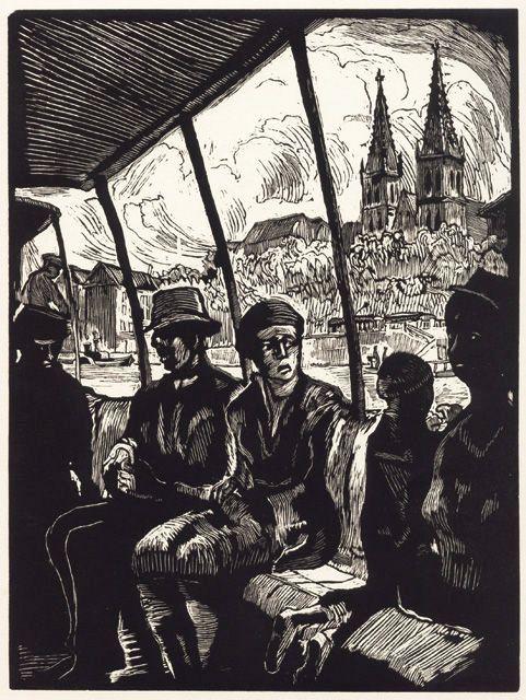 Koloman Sokol - Na lodi pod Vyšehradem