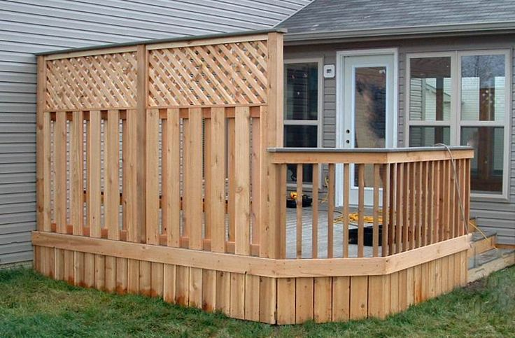 52 best back yard images on pinterest decks fence for Privacy shutters for deck