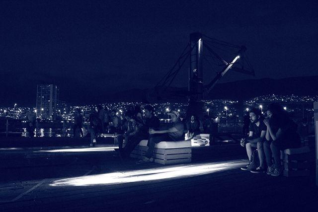 """""""La reconversión del Muelle Histórico de Antofagasta"""". Así fue descrita por periodistas y amigos la primera versión de Música Lúcida, una iniciativa Lúcida Mag por la música local.  Versión que se llevó a cabo el 20 de diciembre en el Muelle Salitrero Excompañía Melbourne & Clark y que contó con la notable participación del destacado Dj y productor Alexis Flores (Alex Blumen) y el músico y compositor Eric Ramos (Hermético)."""