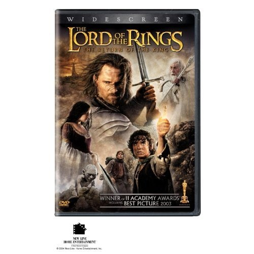 Amazon.com: The Lord of the Rings: The Return of the King (Two-Disc Widescreen Theatrical Edition): Elijah Wood, Ian McKellen, Liv Tyler, Viggo Mortensen, Sean Astin, Cate Blanchett, John Rhys-Davies, Bernard Hill, Billy Boyd, Dominic Monaghan, Orlando Bloom, Hugo Weaving, Miranda Otto, David Wenham, Karl Urban, John Noble, Ian Holm, Sean Bean, Andy Serkis, Peter Jackson: Movies & TV