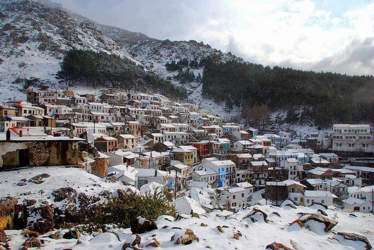 Chora,Samothraki island,Greece