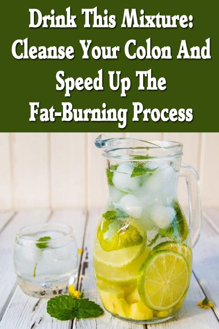 Drink This Mixture(THIS SUMMER): Cleanse Your Colon And Speed Up The Fat-Burning Process with tastiest Drink