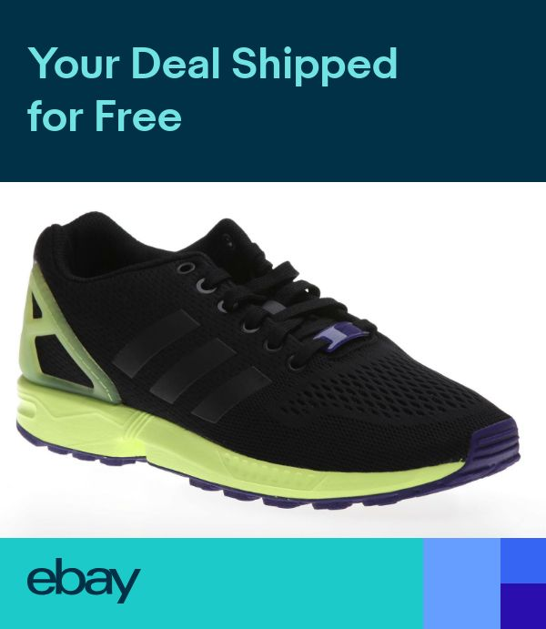 official photos b4706 9252a ADIDAS ZX Flux AF6318 mens running shoes trainers sneakers torsion in 2019    Shoes   Sneakers, Adidas zx flux, Running shoes for men