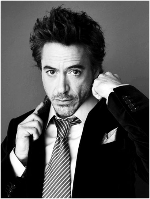 Robert Downey Jr... totally amazing for pulling himself out of addiction...and hotter pushing 50 than he ever was.