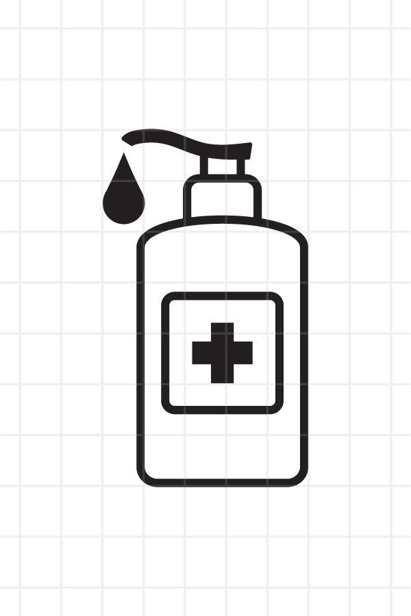 Hand Sanitizer Icon Svg Png Eps Ai 951206 Icons Design Bundles Icon Design Hand Sanitizer Business Card Logo