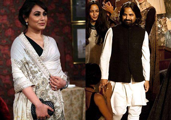 Rani Mukerji gets Sabyasachi to style her look for 'Mardaani' promotions