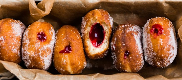 Thermomix Jam Donuts - make this Failsafe by using pear jam or custard