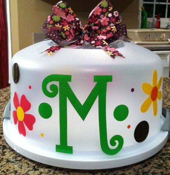 Cake Carrier Target Beauteous 47 Best Cake Carrier Ideas Images On Pinterest  Cricut Vinyl Decorating Inspiration