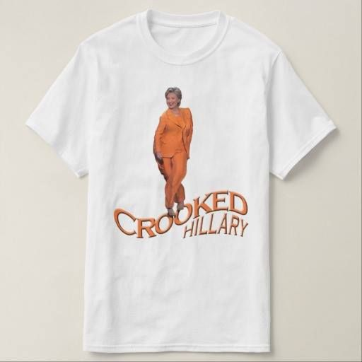 (Crooked Hillary Clinton T-Shirt) #Comey #Crooked #CrookedHillary #CrookedHillaryClinton #Donald #DonaldTrump #Fbi #HashtagCrookedhillary #Hillary #Trump is available on Funny T-shirts Clothing Store   http://funnytshirtsclothingstore.ringscakegownsanniversaryreceptionflowersgift.dressesshoesclothingaccessoriesinvitations.binauralbeatsbrainwaveentrainment.com/2016/11/10/crooked-hillary-clinton-t-shirt/