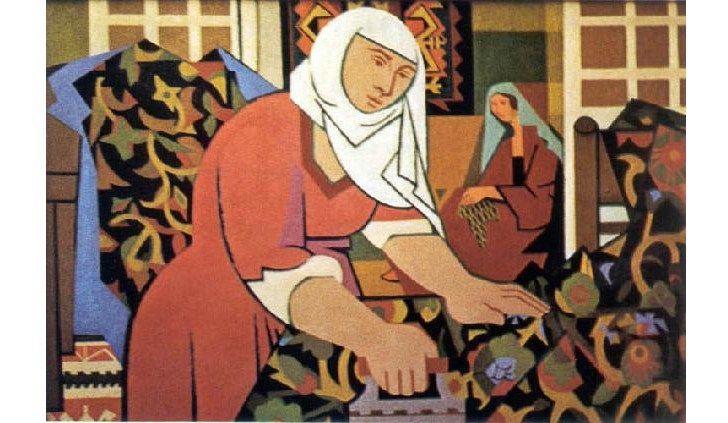 Nurullah Berk (1906 – 1982) – Ütücü Kadın