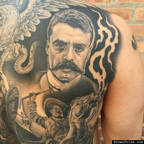 52 best tattoo images on pinterest mexican revolution for Pancho villa tattoo