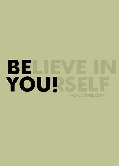 """A """"Creative Arts"""" Lifestyle always starts by Believing in Yourself!"""