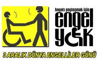 3 Aralık Dünya Engelliler Günü ''Hayatı Paylaşmak İçin Engel Yok.'' #3aralık #dünyaengellilergünü #engellerikaldır #dermokozmetika