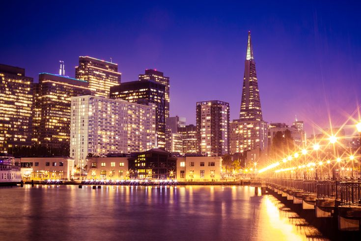 Wonderful San Francisco Skyscrapers Cityscape From Pier at Night Free Stock Photo - FREE DOWNLOAD: https://picjumbo.com/wonderful-san-francisco-skyscrapers-cityscape-from-pier-at-night/ see more: #Architecture, #Bay, #Buildings, #California, #City, #CityLights, #Cityscapes, #Dark, #Evening, #FinancialDistrict, #Lights, #Night, #Ocean, #Old, #Panorama, #Pier, #Piers, #SanFrancisco, #Sf, #SfBay, #Sky, #Skyline, #Skyscrapers, #Top, #Tower #freestockphotos #picjumbo
