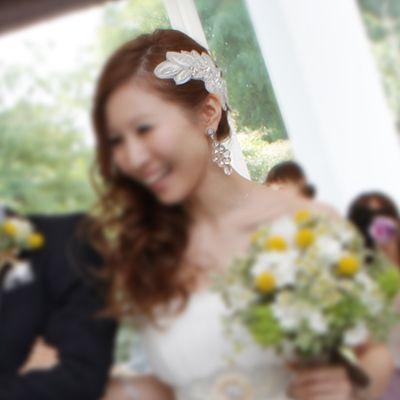 トリートドレッシング小物&ヘアスタイル |nico◡̈*blog 手作り結婚式