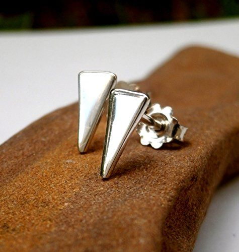 Sterling Silver Triangle Stud Earrings, Small Sterling Si... http://www.amazon.com/dp/B01F0CNNY2/ref=cm_sw_r_pi_dp_cQpjxb1V7V41W