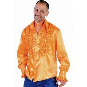 Déguisement chemise disco hippie orange années 70-80 années 60-70 adulte homme, fêtes http://www.baiskadreams.com/402-deguisement-disco-hippie-chemise-orange-homme-deguisement-adulte.html