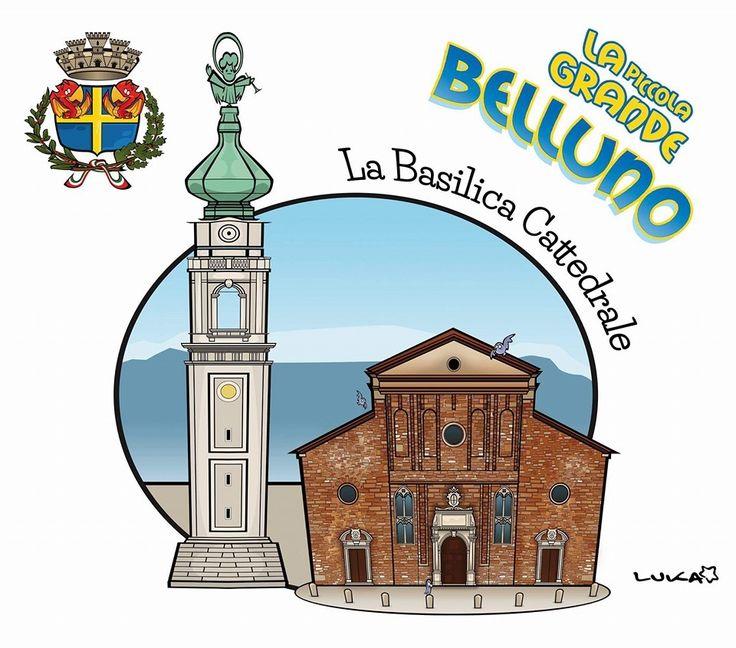 Il Duomo Belluno Dolomiti Veneto Italia by Luca Stella