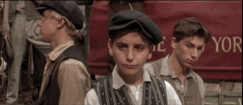 When someone says they're such a big Disney fan, but have never seen The Lion King before …Newsies GIFs For Every Occasion   Silly   Oh My Disney