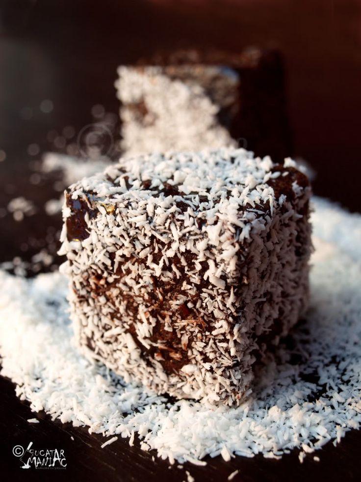 Prajitura tavalita in nuca de cocos