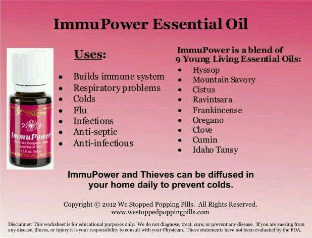 13 Best Immupower Young Living Images On Pinterest Young