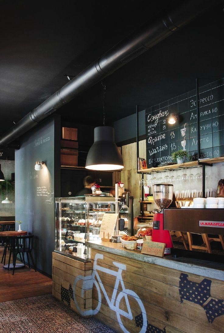 Заведение недели: молодежное кафе в Кривом Роге: Рестораны в стилях Лофт, Минимализм, город Кривой Рог | Архидея