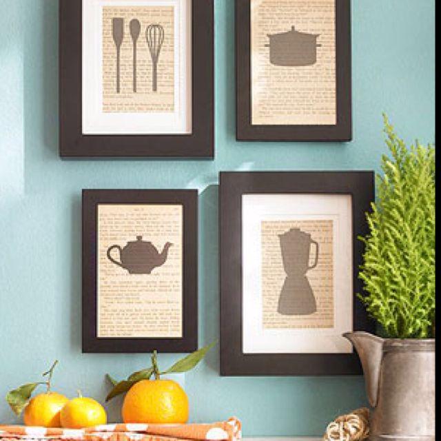 68 Best Kitchen Decor Images On Pinterest Good Ideas