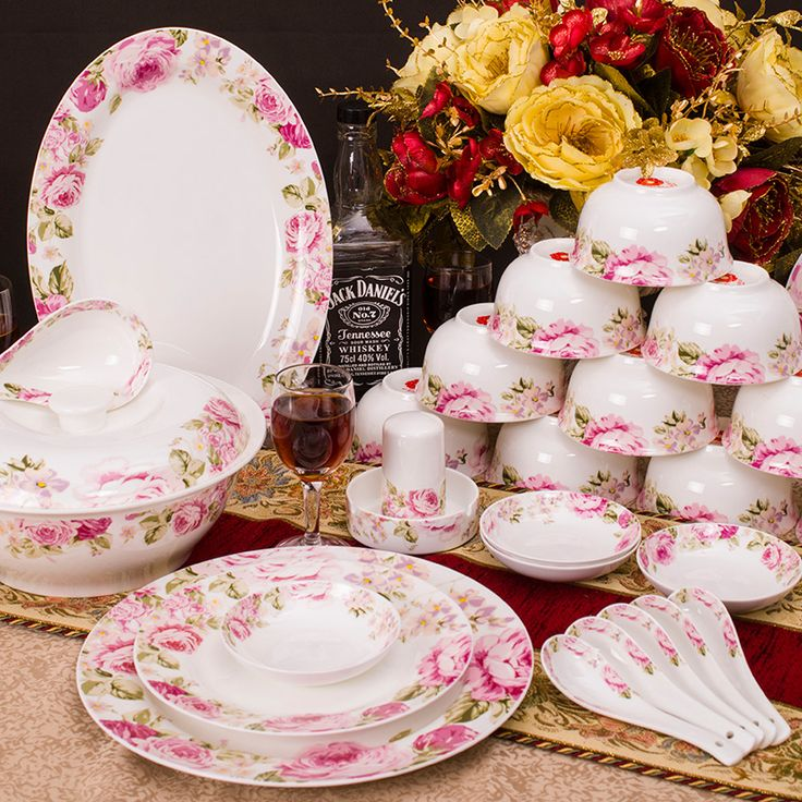 Cheap Dinnerware Sets on Sale at Bargain Price, Buy Quality plate pendant, plate disk, plate table from China plate pendant Suppliers at Aliexpress.com:1,Pattern Type:Scenic 2,Style:Traditional Chinese 3,Production:Pink Rose Dinnerware Set 4,Model Number:Pink Rose 5,Feature:Eco-Friendly