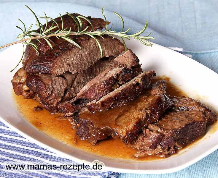 Rezept Lammkeule geschmort auf Mamas Rezepte Homepage