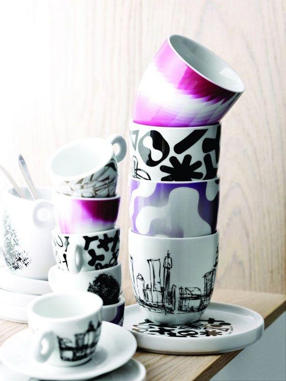 Cup collectors by Karim Rashid