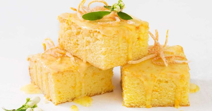 With a zesty orange drizzle, this buttery orange and white chocolate slice makes for the perfect afternoon tea treat.