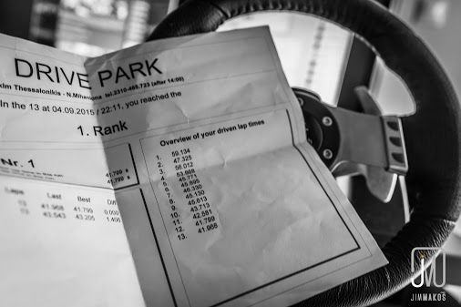 Went for karting in a new track (drivepark.gr). My lap times improved thanks to…